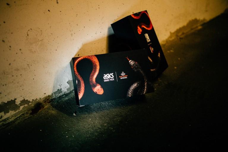 André Duhme Asics Snake Pack